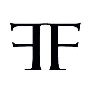 Logo Ferus Gallery blanc