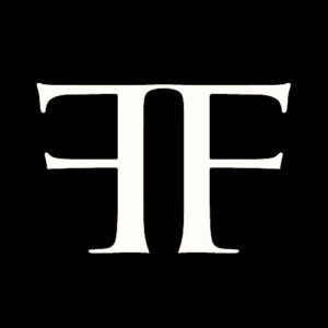Logo Ferus Gallery noir