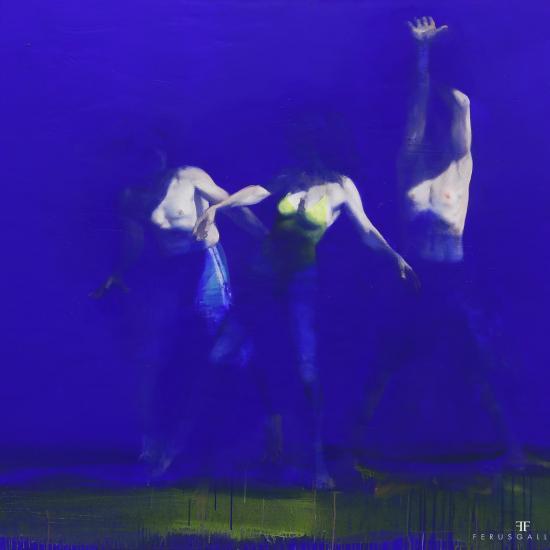 Xavier Jambon, 3 jours, 3 nuits, 2014, acrylique sur toile, 200 x 170 cm