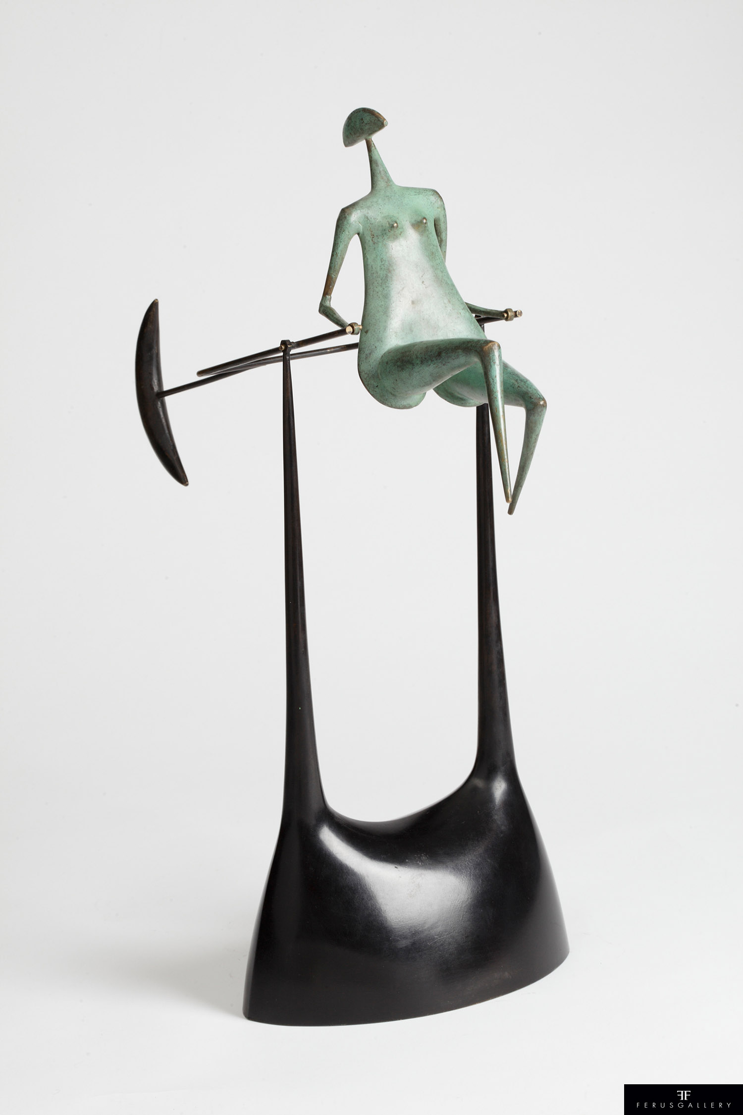 Petite Galipette de Philippe Hiquily