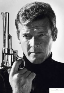 Roger Moore by Terry O'Neill © Terry O'Neill / Iconic Images