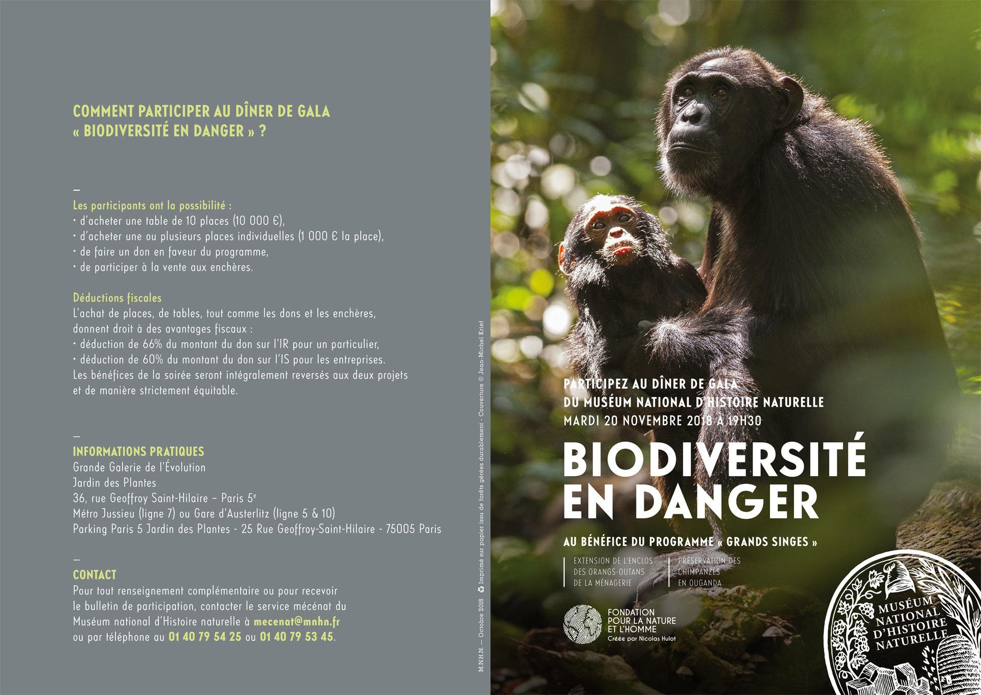 Soirée biodiversité en danger