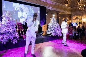 Bal de Noël à Monaco avec la Fondation Princesse Charlène