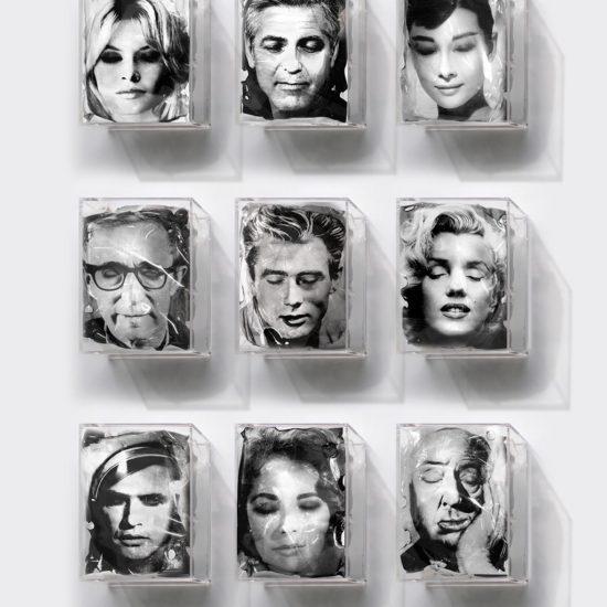 Les icones sont fatiguées d'Yves Hayat, thème Cinéma