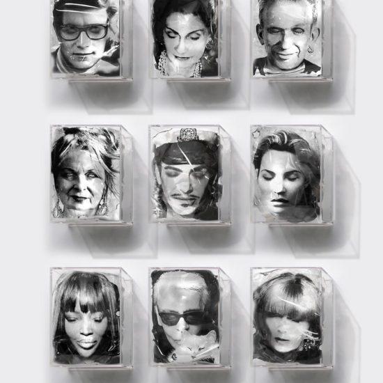 Les icones sont fatiguées d'Yves Hayat, thème Mode