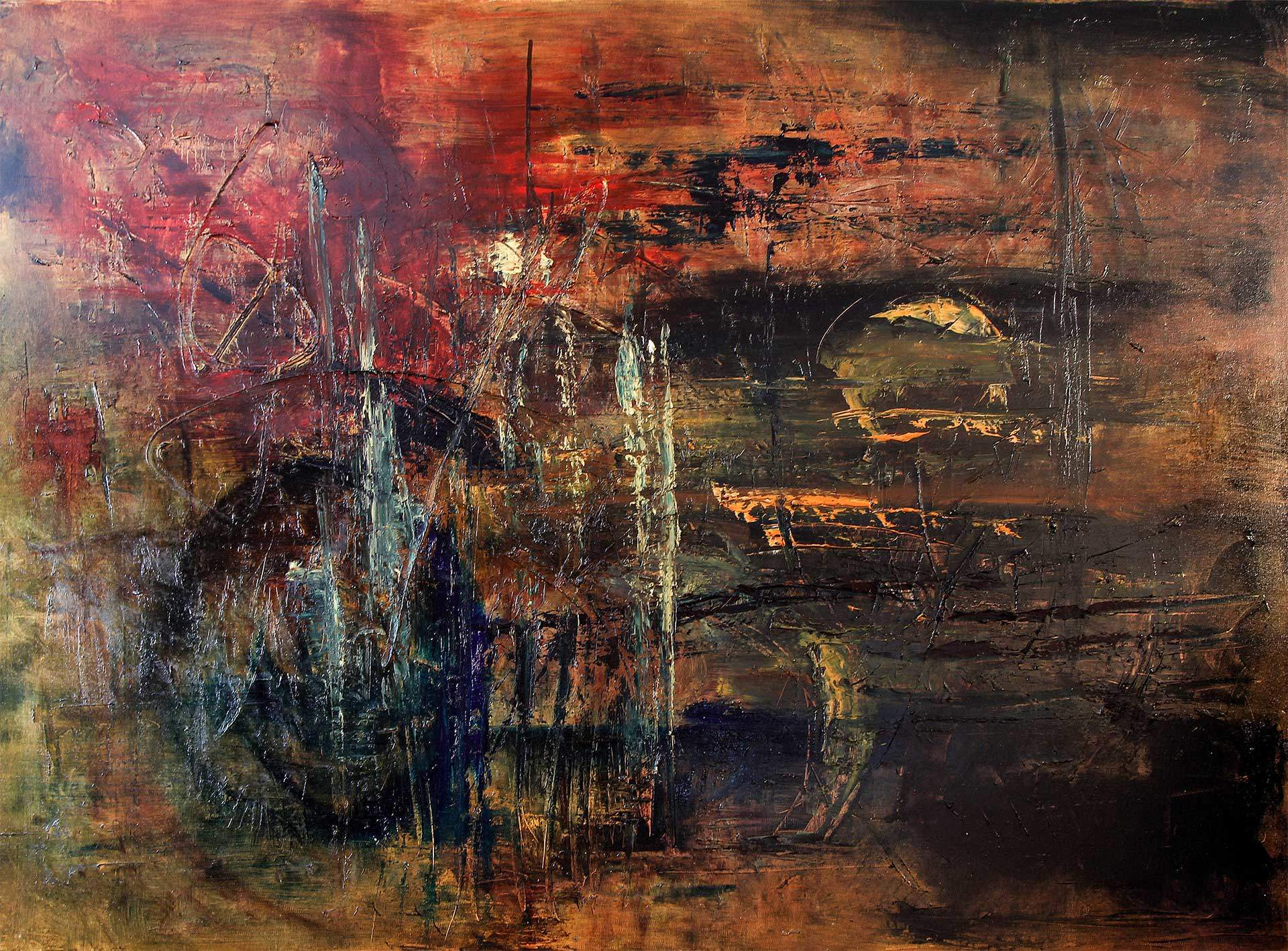 L'Arsenic, une peinture de Jean-Jacques Waldispuhl