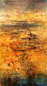 Le Chaos Intérieur, une peinture abstraite de Waldispuhl