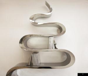 Bibliothèque serpent de Guillaume Piéchaud
