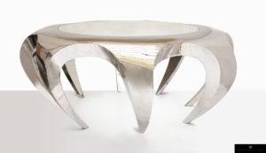 Table basse anémone de Guillaume Piéchaud