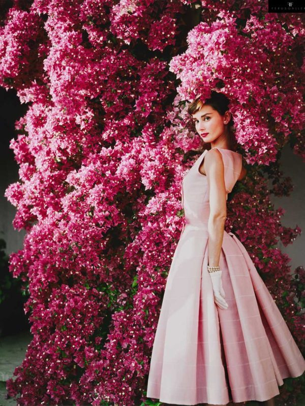 Audrey Hepburn photographed by Norman Parkinson