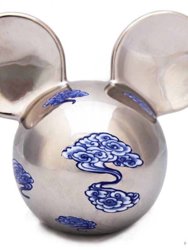 Li Lihong Mickey argenté