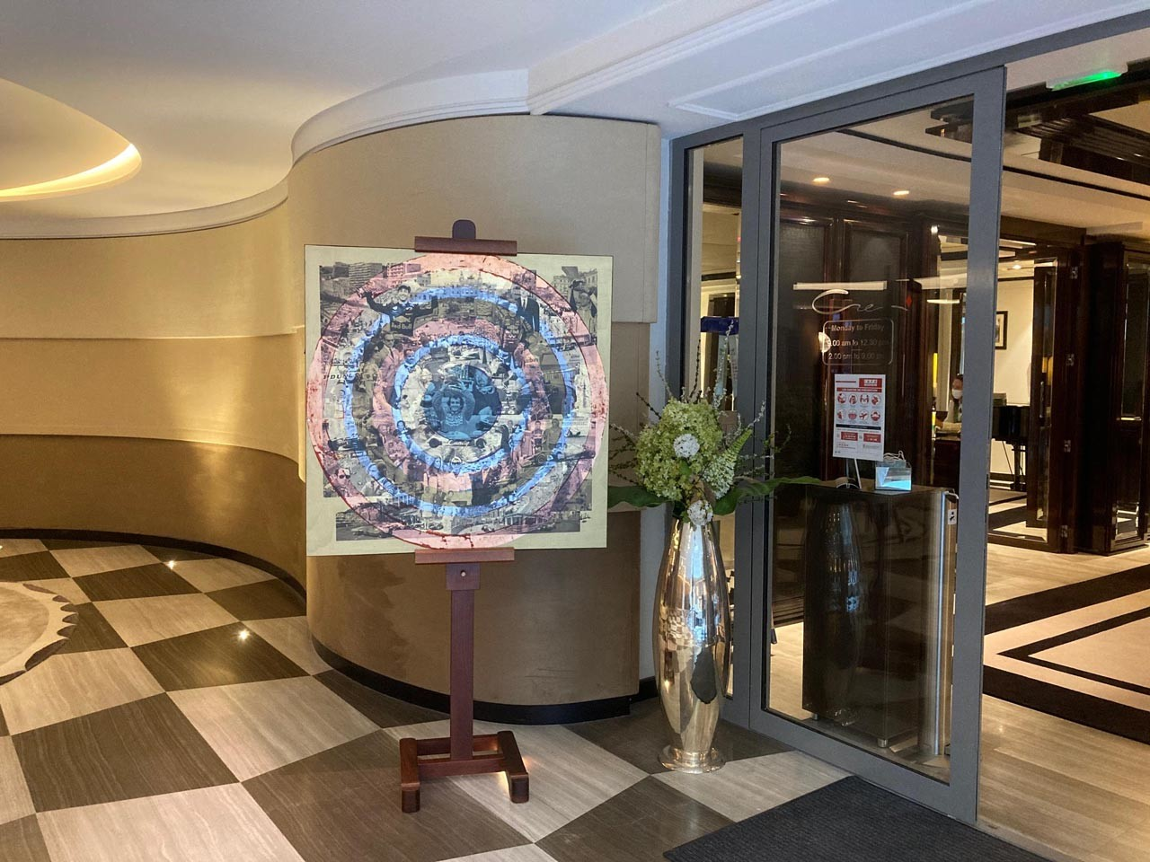 Exposition Alain Rodier au CREM Monaco