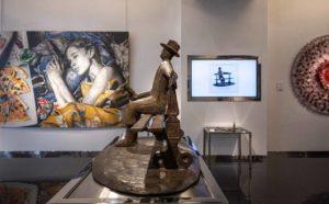 Les sculptures du Maître Folon exposées à Monaco