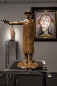 Exposition Folon à la Galerie Bartoux de Monaco