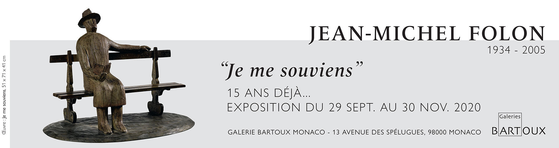 Exposition Jean-Michel Folon