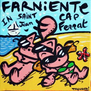 Farniente in Saint Jean Cap Ferrat avec le Chat Rose