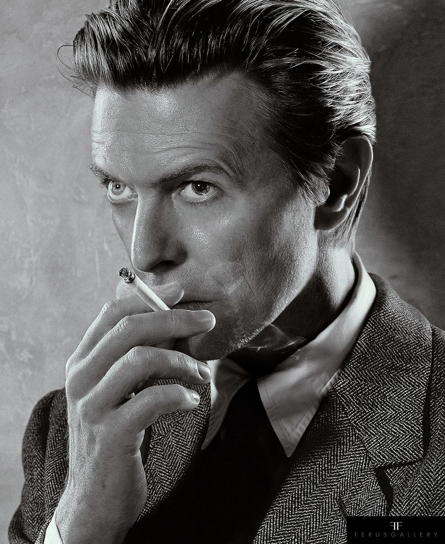 David Bowie, Smoking by Markus Klinko